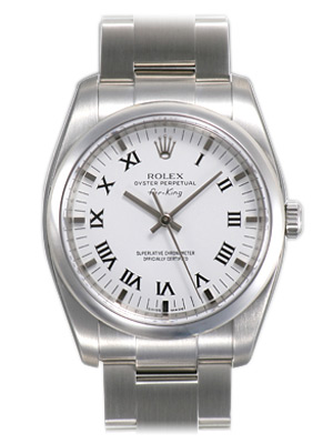 Rolex Air-king Series Mens Automatic Wristwatch 114200-WRO