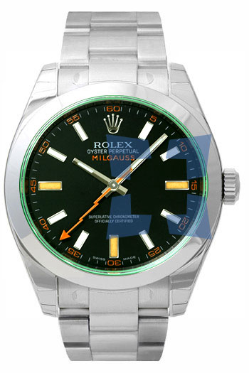 Rolex Milgauss Series Fashionable Mens Automatic Watch 116400GV