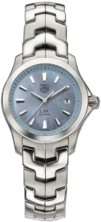 Tag Heuer Link Series Beautiful Blue Mother-of-Pearl Ladies Watch-WJF1311.BA0573