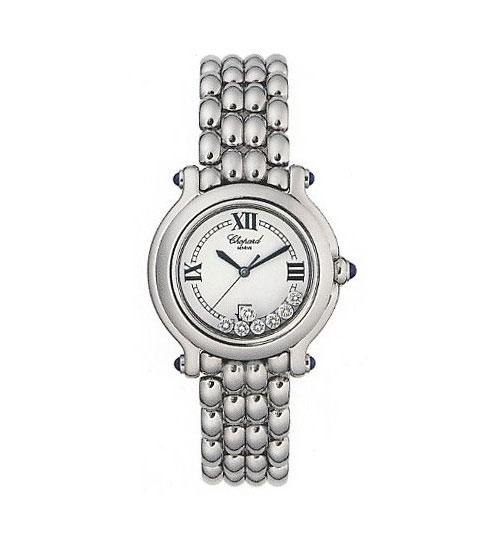 Chopard Happy Sport Series Ladies Diamond Watch 288965-23W