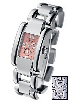 Chopard La Strada Series Steel White Ladies Swiss Quartz Watch 418380