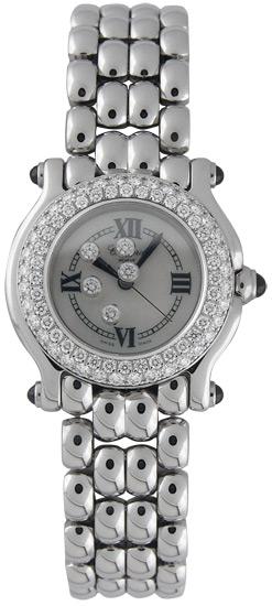 Chopard Happy Sport Series Stainless Steel Ladies Swiss Quartz Watch 278294-23