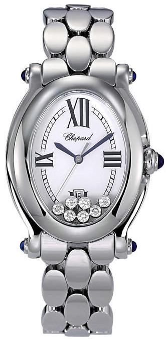 Chopard Happy Sport Series Oval Ladies Swiss Quartz Wristwatch 278418-23