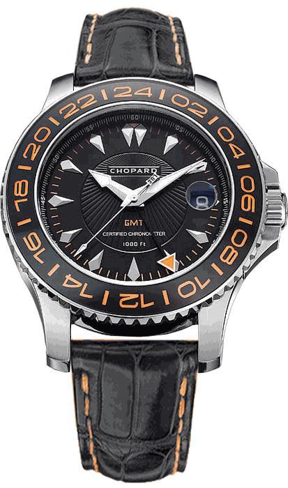 Chopard L.U.C Series Fashionable Mens Automatic Watch 168959 in Black