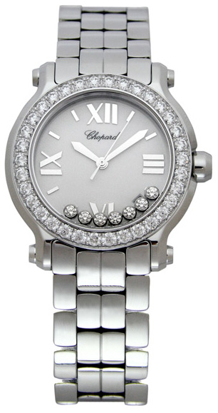 Chopard Happy Sport Series Ladies Swiss Quartz Watch 278478-2001