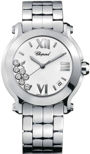 Chopard Happy Sport Series Ladies Swiss Quartz Watch 278477-3001