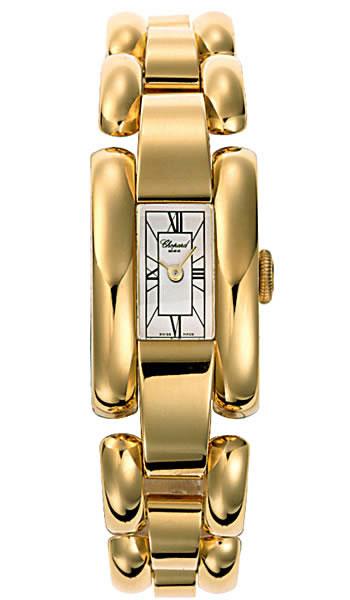 Chopard La Strada Series 18kt Yellow Gold Ladies Swiss Quartz Watch 417396