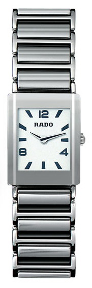 Rado Integral Series Platinum-tone Ceramic Mini Ladies Watch R20488112