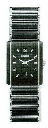 Rado Integral Series Midsize Black Ceramic Quartz Unisex Watch R20486152