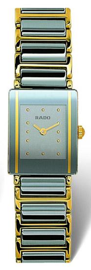 Rado Integral Series Scratch Resistant Ceramic Quartz Ladies Watch R20383142