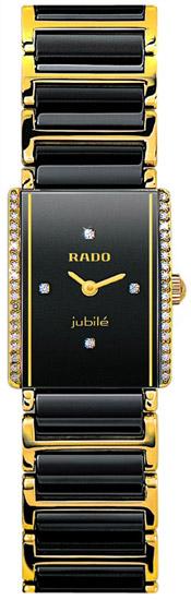 Rado Integral Series Quartz Ladies Watch R20339712 in Black