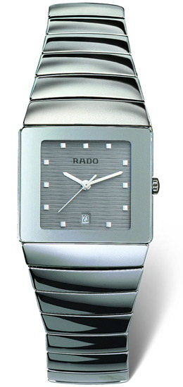 Rado Sintra Series Platinum-tone Ceramic Mens Watch-R13332122
