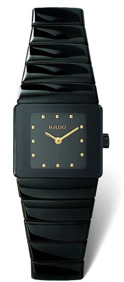 Rado Sintra Series Black Ceramic Quartz Ladies Watch-R13337162