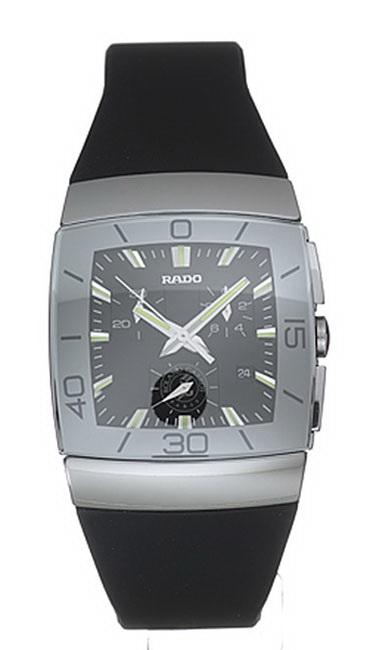 Rado Sintra Series Scratchproof Ceramic Chronograph Mens Watch-R13600029