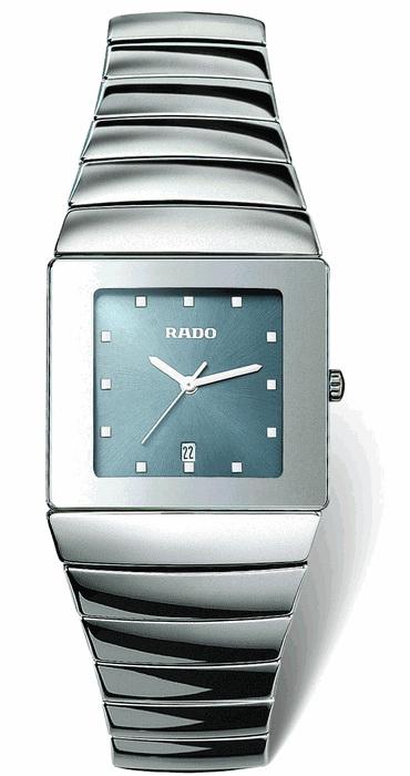 Rado Sintra Series Platinum-Tone Ceramic Mens Watch-R1342202