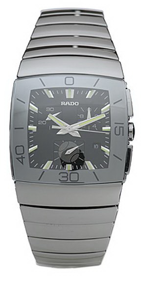 Rado Sintra Series Tennis Chronograph Ceramics Mens Watch-R13600132
