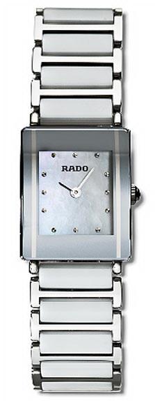 Rado Integral Series Ceramic Steel Quartz Ladies Watch R20488902