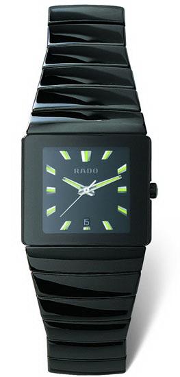 Rado Sintra Series Ceramic Quartz Unisex Watch R13336182 in Black