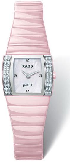 Rado Sintra Series Diamonds Quartz Ladies Watch R13652902 in Pink