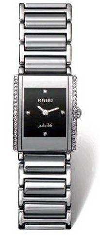 Rado Integral Series Silver Tone Ceramic Quartz Ladies Watch R20430732