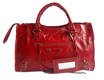 Balenciaga Handbag 084332 Red