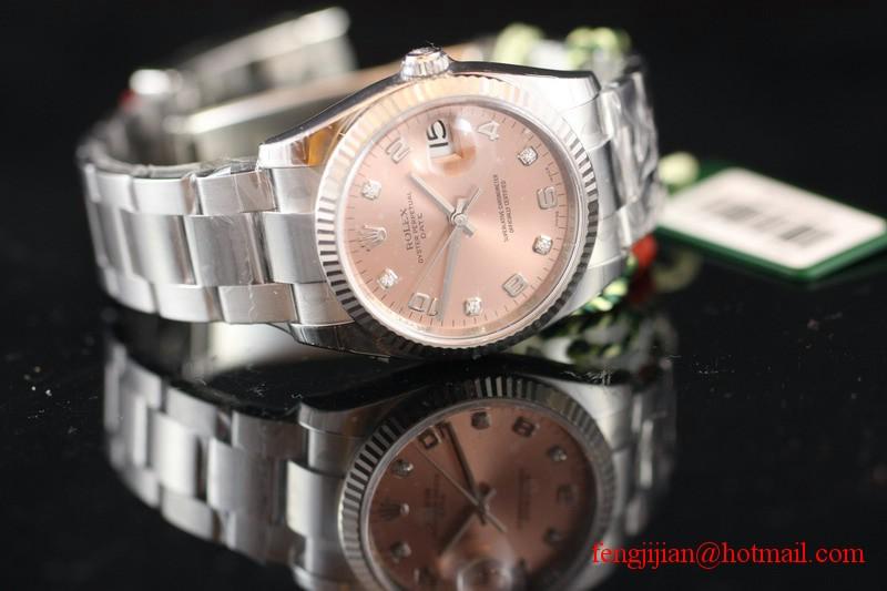 Rolex Steel Oyster Perpetual Date Watch 115234-72190