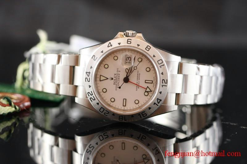 Rolex Explorer II Mens Watch 16570-78790-WSO