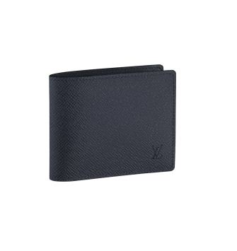 Louis Vuitton Taiga Leather Compact Wallet M32606