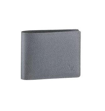 Louis Vuitton Taiga Leather Compact Wallet M32642