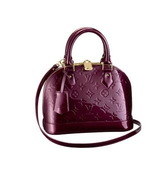 Louis Vuitton Monogram Vernis Alma BB M91676