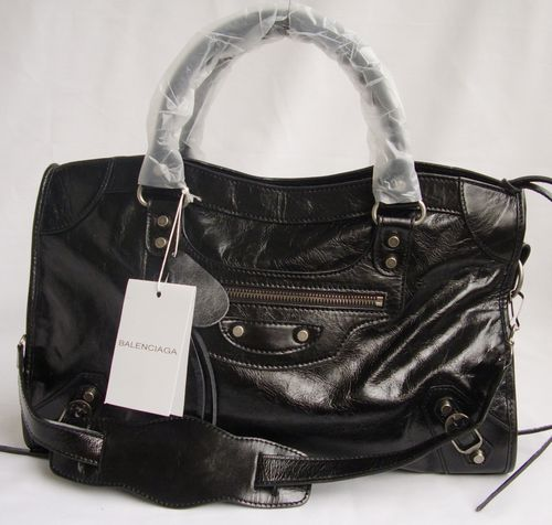 Balenciaga City Bag 084332 Black