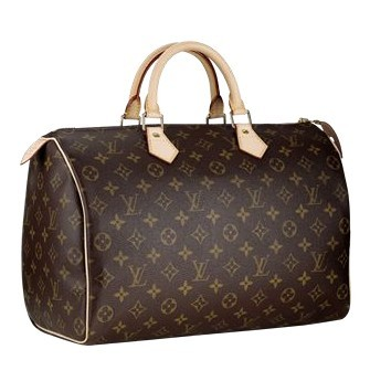 Louis Vuitton Monogram Canvas Speedy 35 M41524