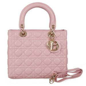 Lady Dior Bag mini Bag Sheepskin Leather D9601 Pink