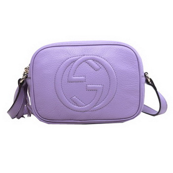 Gucci Soho Calfskin Leather Disco Bag 308364 Lavender