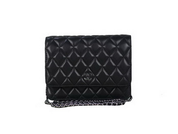 Chanel A33814 Original Leather mini Flap Bag Black
