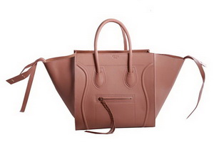 Celine Luggage Phantom Original Leather Bags Light Brown