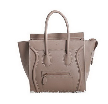 Celine Luggage Micro Boston Bag Original Leather Khaki