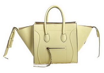 Celine Luggage Phantom Original Leather Bags C3341 Beige