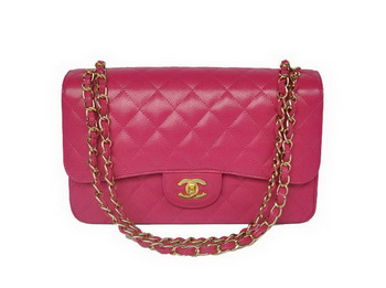 Chanel Jumbo Quilted Classic Cannage Patterns Flap Bag A58600 Rose Gold