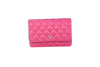 Chanel A33814 Original Sheepskin Leather mini Flap Bag Rose