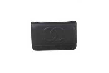 Chanel A33814 Original Cannage Patterns mini Flap Bag Black