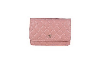 Chanel A33814 Original Sheepskin Leather mini Flap Bag Light Pink