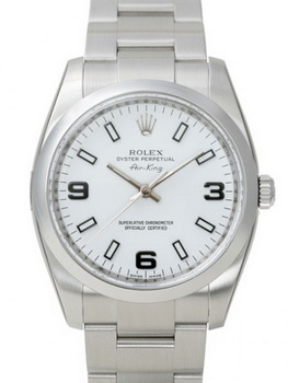 Rolex Air-King Watch 114200BL
