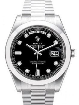 Rolex Day Date II Watch 218206A