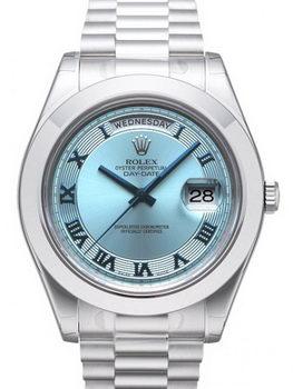 Rolex Day Date II Watch 218206F