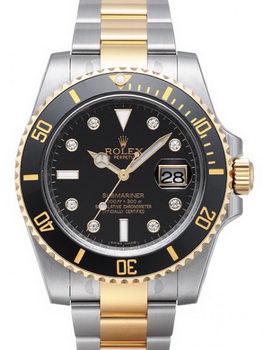 Rolex Submariner Date Watch 116613A