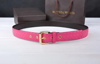 Bottega Veneta Intrecciato Nappa Belt 274483 Rose