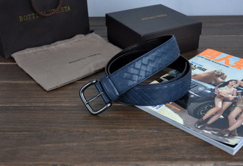Bottega Veneta Intrecciato Nappa Belt 274484 RoyalBlue