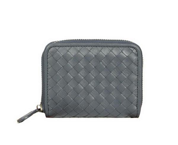 Bottega Veneta Intrecciato Nappa Mini Wallet 5818 RoyalBlue