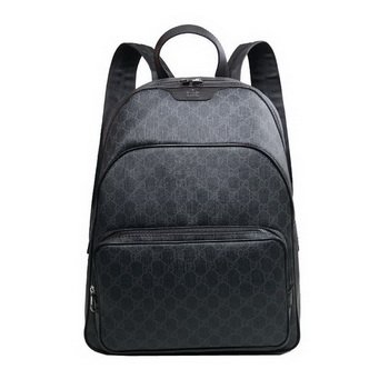 Gucci 322069 Black Supreme Canvas Backpack